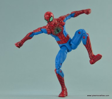 Marvel Legends Spider-Man and Mary Jane Watson figure review - balancing act