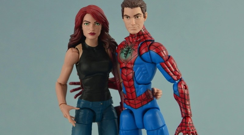 Marvel Legends Spider-Man and Mary Jane Watson two-pack figure review