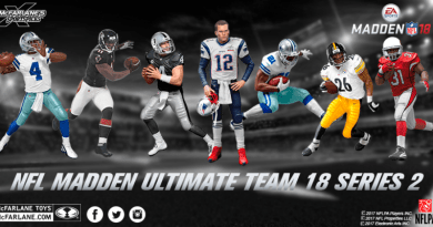 McFarlane Toys reveals NFL Ultimate Team Series 18, which naturally has a Brady figure