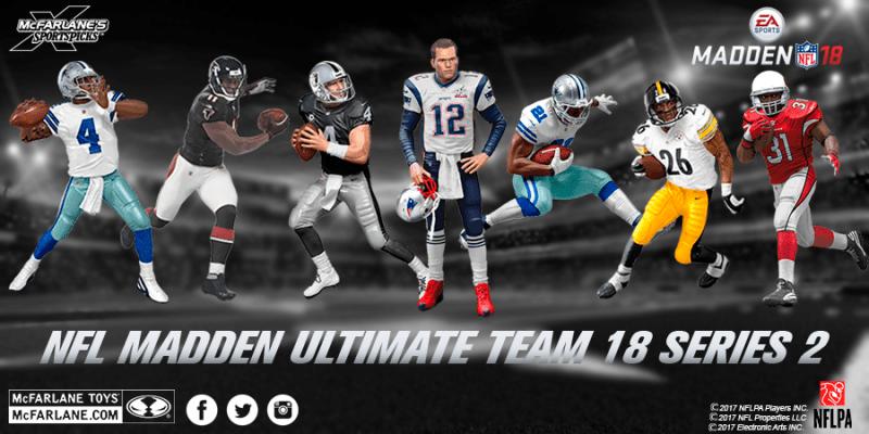 McFarlane NFL Ultimate Team Series 18