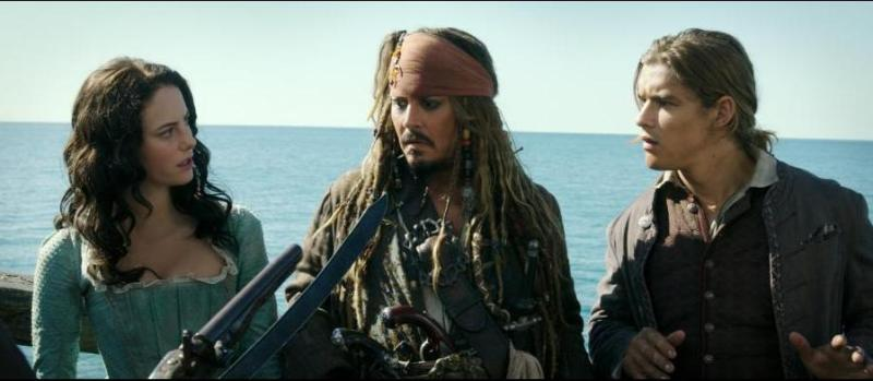 Pirates of the Caribbean Dead Men Tell No Tales -Carina, Jack Sparrow and Henry Turner