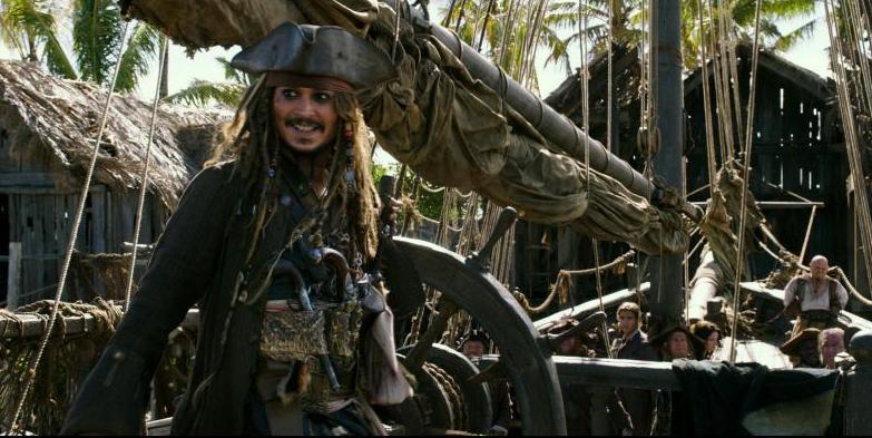 Pirates of the Caribbean Dead Men Tell No Tales -Johnny Depp as Capt Jack Sparrow