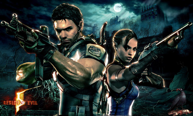 Resident Evil 5 Chris and Sheva
