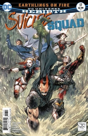 Suicide Squad #17 cover
