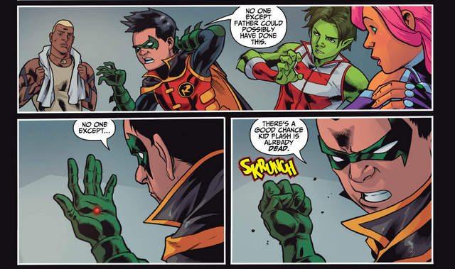 Teen Titans #8 interior art