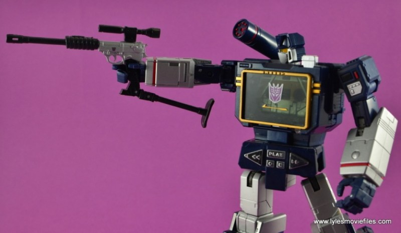 Transformers Masterpiece Megatron figure review -in gun transformation mode
