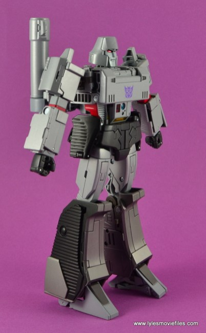 Transformers Masterpiece Megatron figure review -right side