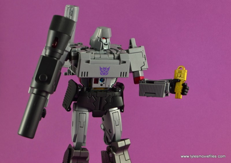 Transformers Masterpiece Megatron figure review -with Vector Sigma key