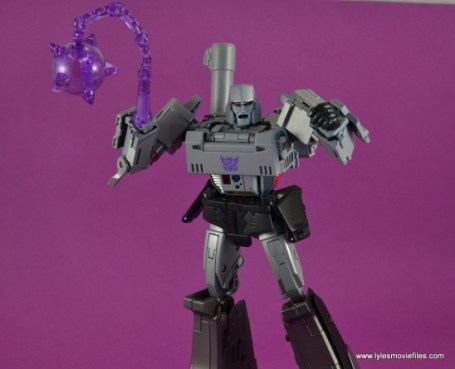 Transformers Masterpiece Megatron figure review -with mace chain