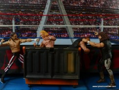 WWE Elite 48 Cactus Jack figure review -with Terry Funk in Dumpster vs New Age Outlaws