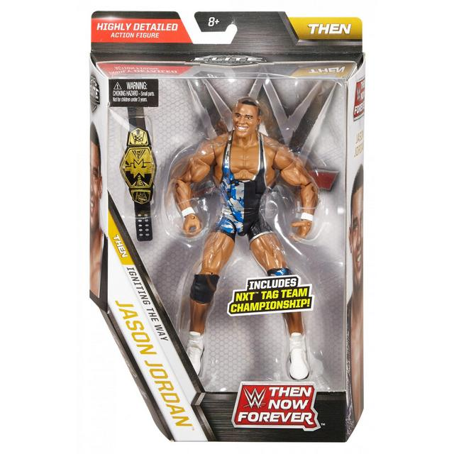 WWE TNF Series 3 Jason Jordan - front package
