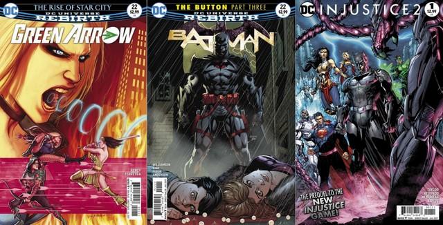 DC Comics reviews 5/3/17