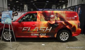 Awesome Con 2017 CW The Flash car