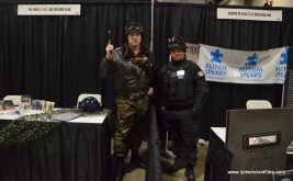 Awesome Con 2017 Day 2 cosplay - General Hawk and SHIELD trooper