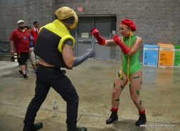 Awesome Con 2017 Day 2 cosplay - Nash vs Cammy