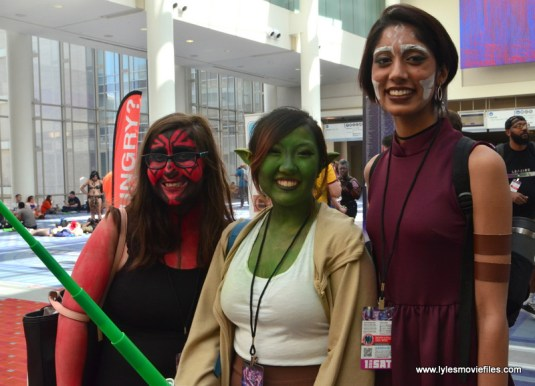 Awesome Con 2017 Day 2 cosplay - Star Wars Sith and Jedi
