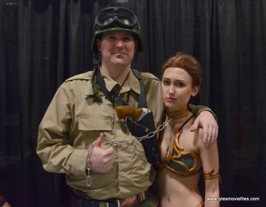 Awesome Con 2017 cosplay Friday - Duke and Princess Leia