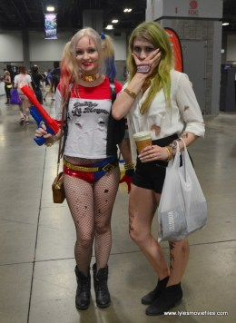 Awesome Con 2017 cosplay Friday - Harley Quinn and Joker