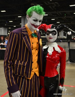 Awesome Con 2017 cosplay Friday -Joker and Harley Quinn