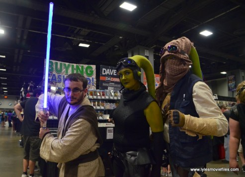 Awesome Con 2017 cosplay Friday -Star Wars Jedi