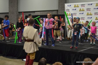 Awesome Con 2017 lightsaber training 0