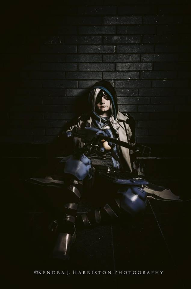 Canary Cry Cosplay as Ana from Overwatch 2