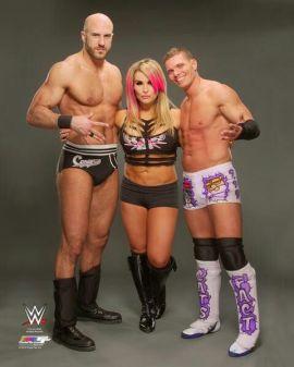 Cesaro, Natalya and Tyson Kidd