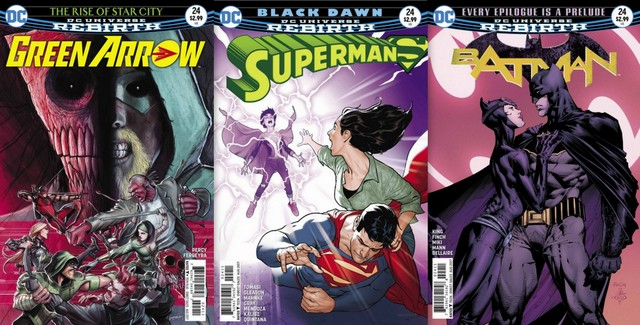 DC Comics Reviews for the week of 6/7/17
