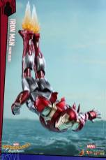 Hot Toys Iron Man Mark 47 figure - zooming down
