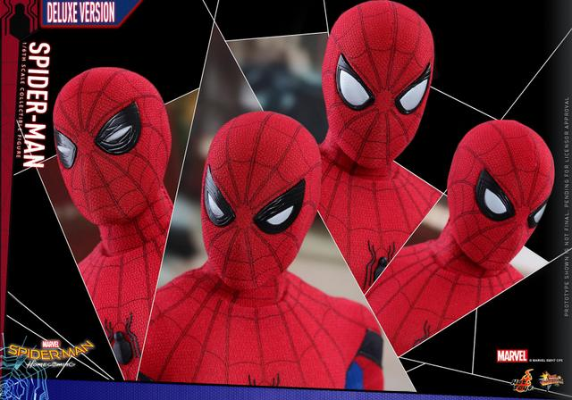 Hot Toys Spider-Man Homecoming figure - eye masks