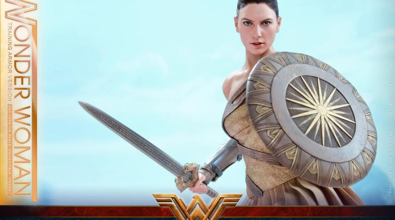 Hot Toys Wonder Woman Training Armor Version -main pic