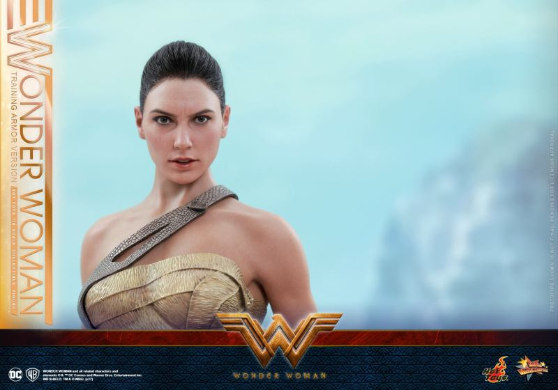 Hot Toys Wonder Woman Training Armor Version -wide