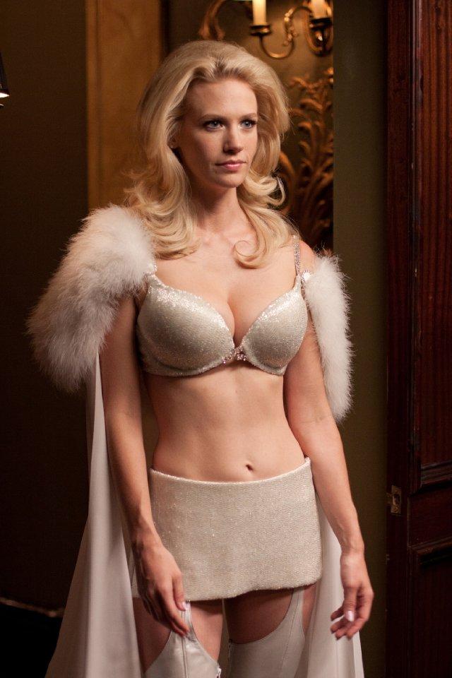 January Jones as Emma Frost X-Men First Class