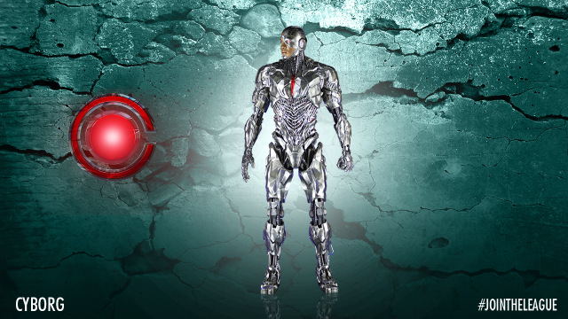 Justice League Cyborg costume design