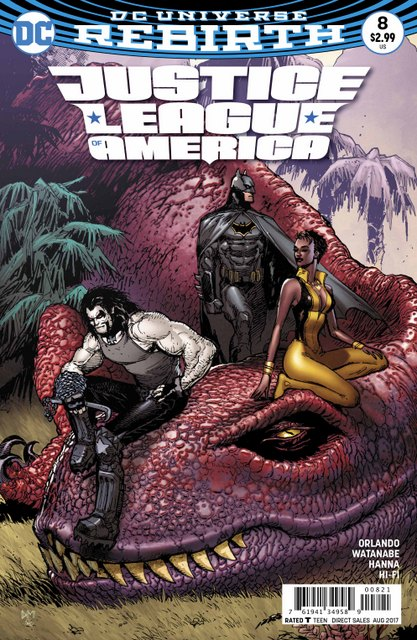 Justice League of America #8 cover