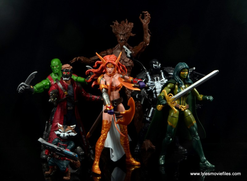 Marvel Legends Angela figure review -Guardians of the Galaxy