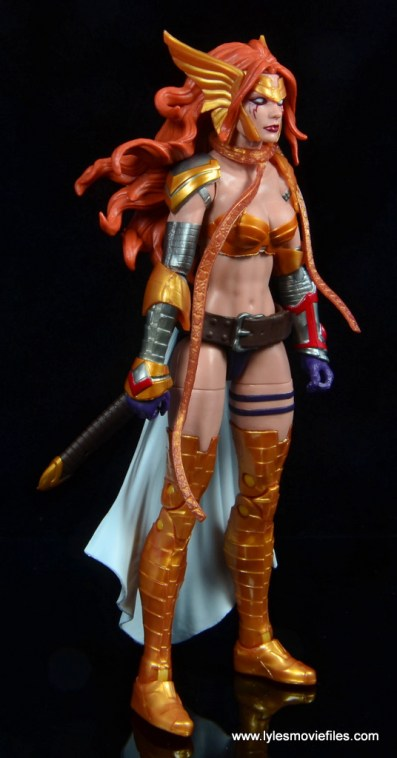 Marvel Legends Angela figure review -right side