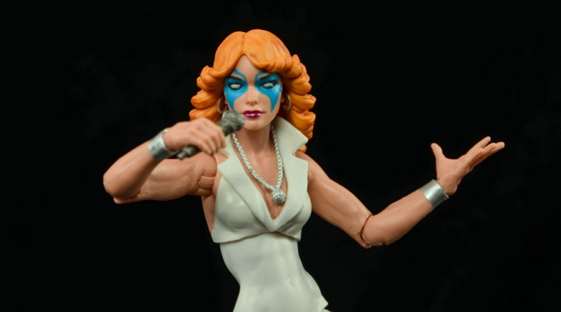 Marvel Legends Dazzler figure review -main pic