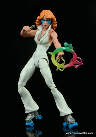 Marvel Legends Dazzler figure review -posing