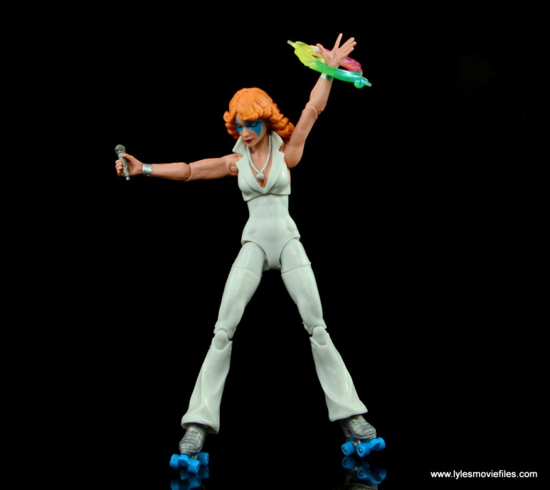 Marvel Legends Dazzler figure review -ready to sing