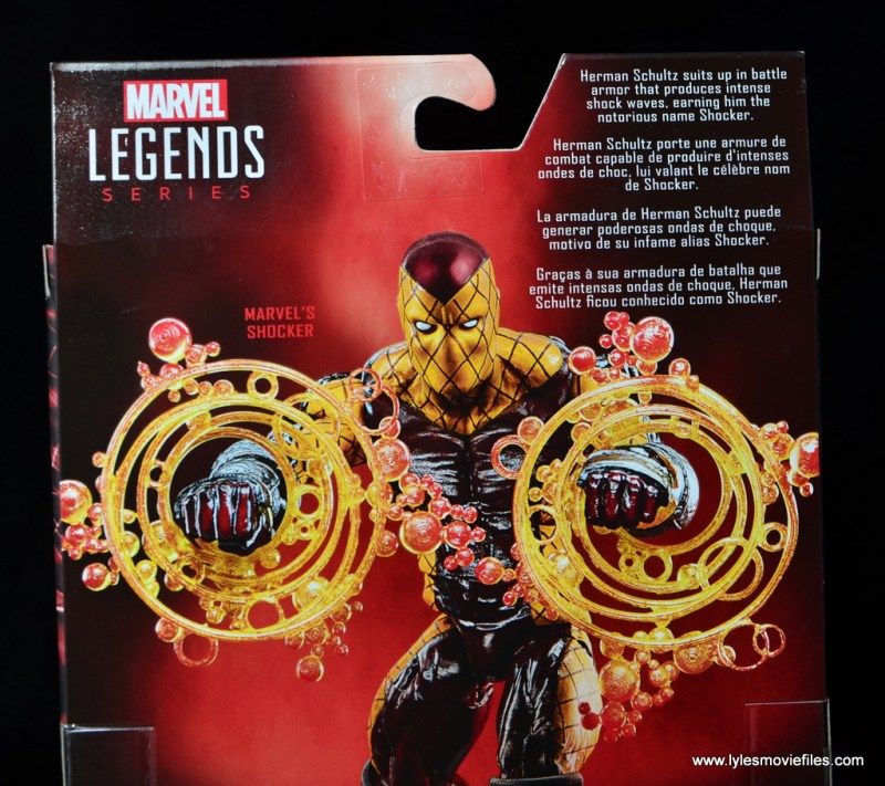 Marvel Legends Shocker figure review -bio