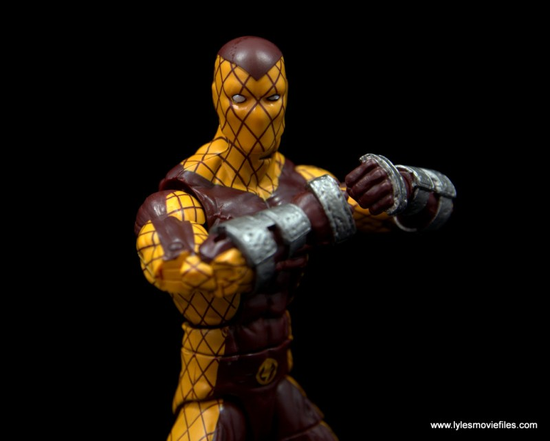 Marvel Legends Shocker figure review - charging up