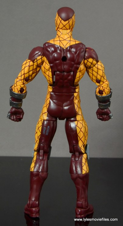 Marvel Legends Shocker figure review -rear