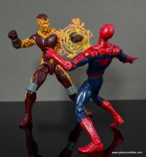 Marvel Legends Shocker figure review - shocking Spider-Man