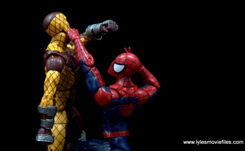 Marvel Legends Shocker figure review - vs Spider-Man