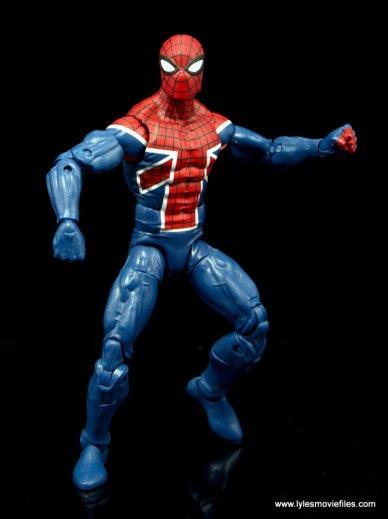 Marvel Legends Spider-Man UK figure review - action stance