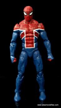 Marvel Legends Spider-Man UK figure review - front side