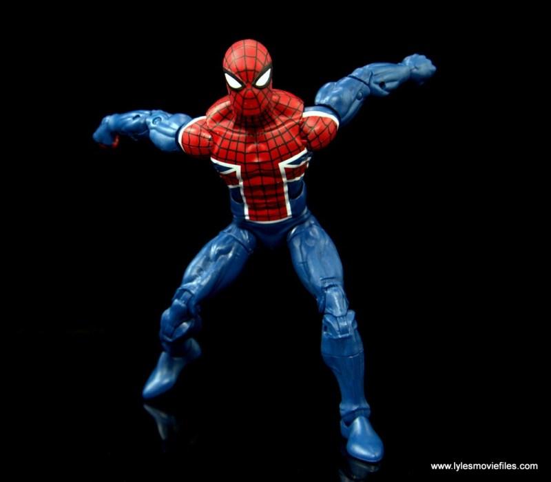 Marvel Legends Spider-Man UK figure review - set to leap