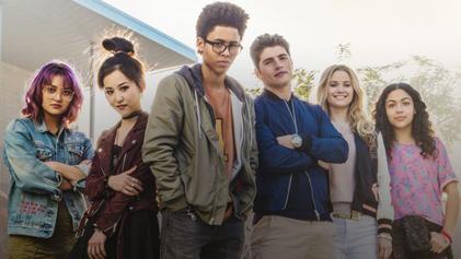 Marvel Runaways_TV_series_cast