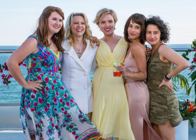 Rough-Night-movie-review-Jillian-Bell-Kate-McKinnon-Scarlett-Johansson-Zoe-Kravitz-and-Ilana-Glazer
